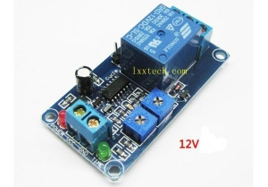 China 12V loop delay module, cycling relay, stable delay switch circuit performance on sale