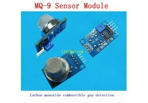 China Electronic Modules MQ-9 combustible gas sensor detects carbon monoxide alarm module on sale