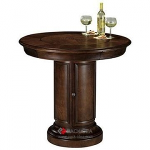 China Wine displays Customized Wine Desk customized luxury wood furniture on sale