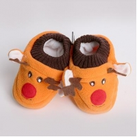Cartoon Kids Shoes/Baby Shoes/Toddler Shoes with Fleece Inside