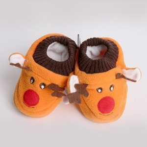 China Cartoon Kids Shoes/Baby Shoes/Toddler Shoes with Fleece Inside on sale