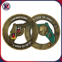 US Skull Challenge Coins Air force