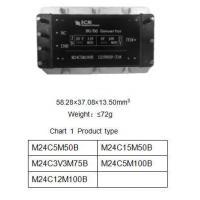 HI-REL COTS DC/DC Converters M24C Series Mil-COTS DC/ DC Converters