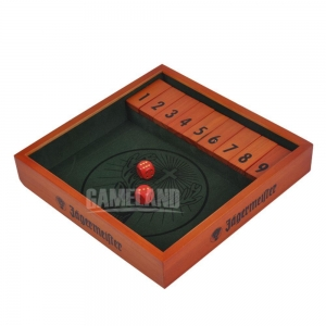 China Kids Educational Games 9 Number Shut The Box Game on sale