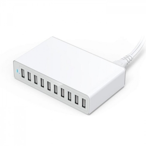 China USB Travel Charger 10-port USB Mobile Phone Charger on sale