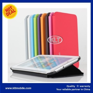 China Leather Stand Folio Case Cover For Samsung Galaxy Tab Mobile Case suppliers on sale