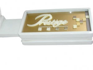 China Indoor LED Light Box Wall For Advertising on sale