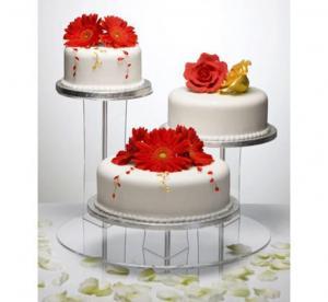 China Acrylic Cupcake POP Display Stand on sale