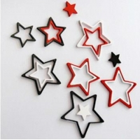 Wall Sticker Acrylic Stars Home Decoration