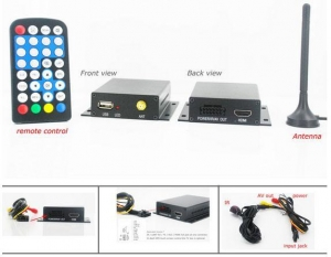 China ATSC-201 One tuner One antenna car ATSC tv receiver box on sale