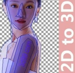 China flip effect design software 2d to 3d conversion software on sale