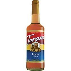 China Flavorings & Syrup Torani Peach Syrup - 750 mL on sale