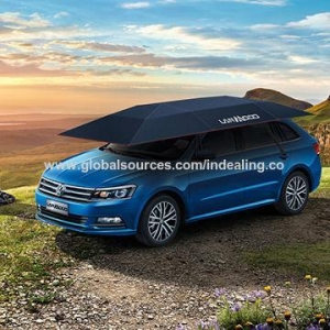 Quality Lanmodo 1st Generation Semi-auto Folded Car Covers for Cooling Temperature for sale