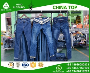 China Pants A6.ladies jeans pants on sale