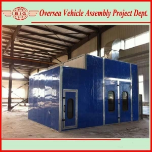China Car spray paint booth on sale