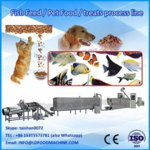 China Double screw pet food extruder machine on sale