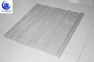 China FRP Sun Translucent Corrugated Roofing Sheets/ Corrugated Clear Plastic Roof Panels on sale