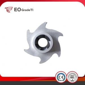 China ASTM B367 Customized Small Tolerance Water Pump Titanium Impeller on sale