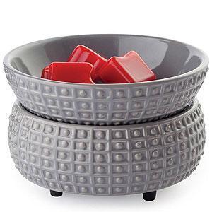 China Candle Warmers Candle Warmer & Dish Slate on sale