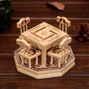 China Wooden Gifts & Crafts Mini Furniture Product ID: TH-98-02 on sale