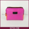 China Cosmetic / Toiletry Bag Colour Blocking Cosmetic Bags(F1435) for sale