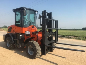 China SG625 Rough Terrain Forklift on sale
