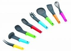 China meat fork/Potato masher/soup ladle/slotted turner/Spaghetti server/skimmer/spatula/egg whisk on sale