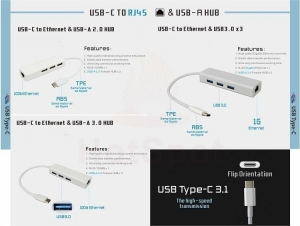 China type C to RJ45 USB A on sale