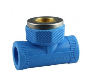 China PPR Pipe and Fitting Series Female Thread Tee on sale