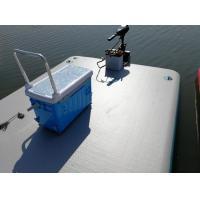 China 2018 Hot sale Inflatable Air Platform Floating Dock Inflatable Swim Platform on sale