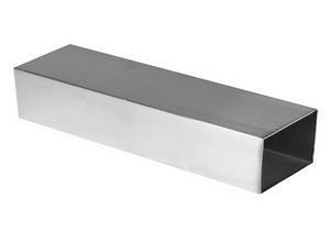 China Stainless Steel Square Tube Slotted on sale
