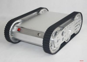 China KR0007 HD Tracked Tank Mobile Robot Kit on sale