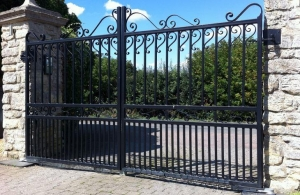 China Steel Gates on sale