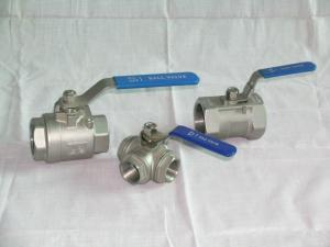 China Ball valve Internal thread ball valve on sale