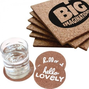 China Mugs & Drinkware Square Cork Coaster Sets on sale