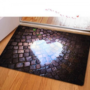 China Fashion Printed Door Mat on sale