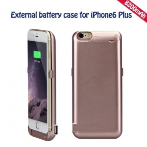 China Hight Qaulity New Arrival Backup Battery Charger Case For IPhone 6plus External Battery Case 8200mAh on sale