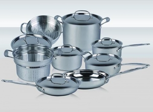 China 14PCS stainless steel cookware set on sale