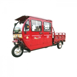 China Newest Adult Three Wheel Motorcycle Auto Gear 130cc Petrol for Passenger with Cabin on sale