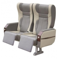 Luxury VIP Passenger Seat with Monitor Displayer Legreset Recliner and Safty Belt for 2+1 Volvo Bus
