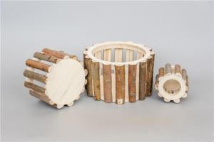 China Wooden Garden Planter on sale