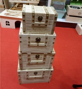 China 4 in 1 Wooden Jewelry Storage Box on sale