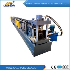 China Stainless Steel Storage Rack Roll Forming Machine on sale