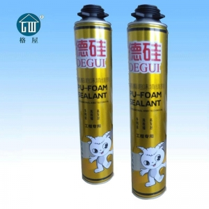 China DeGui Polyurethane Foam Sealant on sale