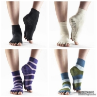 AS2016Half Toe Yoga/Pilates Toe Socks