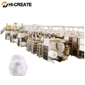 China Baby Diaper Manufacturing Machine on sale