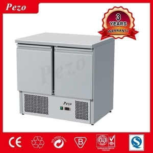 China PEZO counter salad display refrigerator showcase for salads counter chiller with salad top on sale