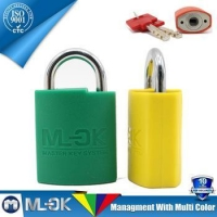 MOK @ W203/W203L red/blue/yellow/green/black 5 colors padlock for industrial use
