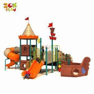 China Outdoor Playground Pirate Ship Series Small Playground Equipment on sale