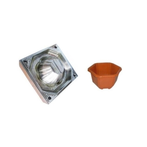 China plastic flower pot mould on sale